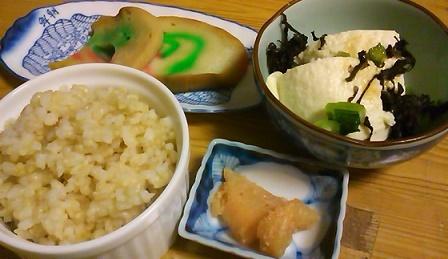 麩と豆腐と海苔