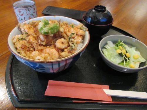かきあげ丼(つゆ)