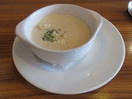 新玉葱のポタージュスープ
