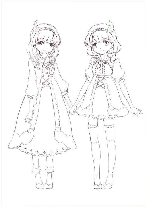 20170329ブログイメージ双子キャラ-下書き