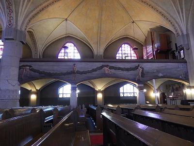 タンペレ大聖堂横から