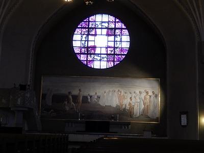 タンペレ大聖堂祭壇画