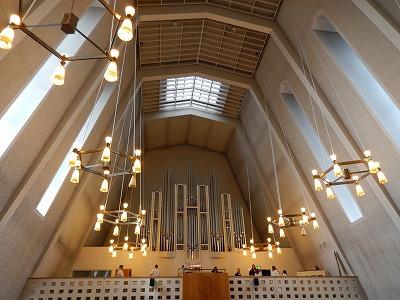 カウハヨキ教会パイプオルガン