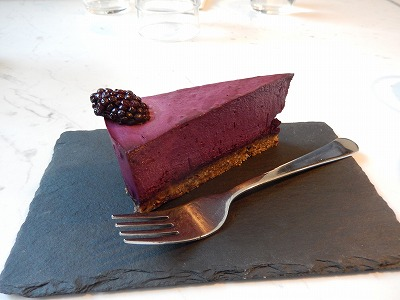 Raawkaベリーケーキ