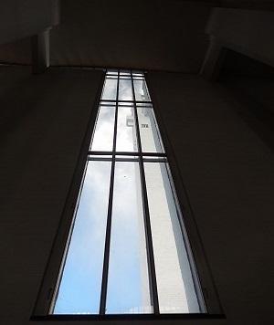 ラケウデンリスティ教会窓