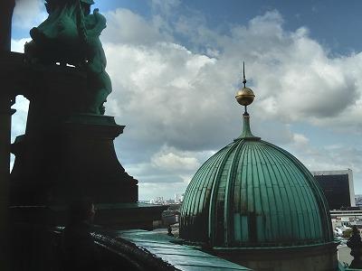 ベルリンドーム上から