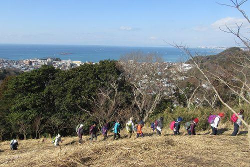 仙元山へ登る
