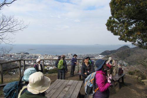仙元山にて