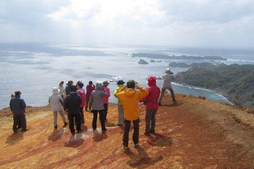 南島方面の眺め