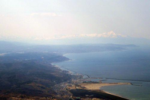 米山と寺泊