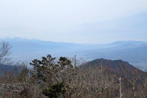 八ヶ岳と北アルプス