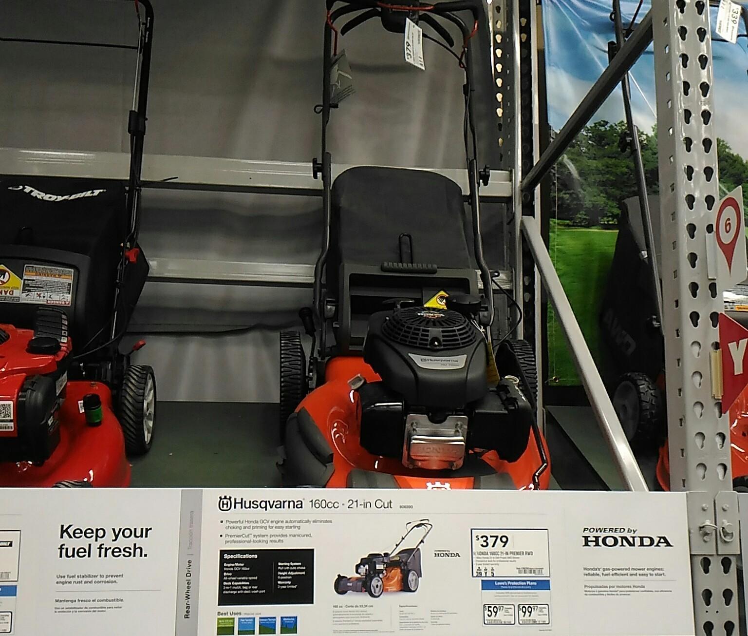 手押し式芝刈り機