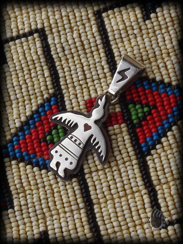 Thunderbird Woman Pendant Head 01