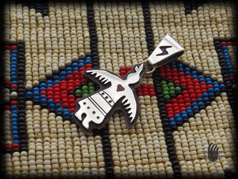 Thunderbird Woman Pendant Head 02