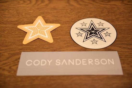 CODY SANDERSON Novelty 1