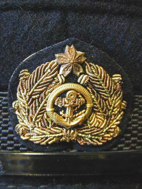 ミニチュア海軍軍帽_軍帽前章