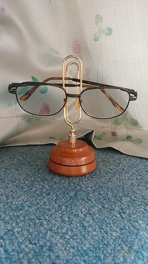 メガネ置きに使用