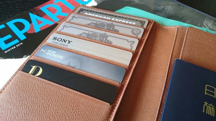2017年カード財布ビルトイン