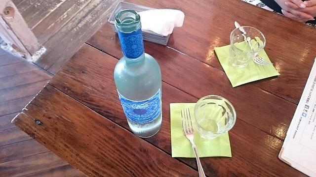 フロアー水ボトル