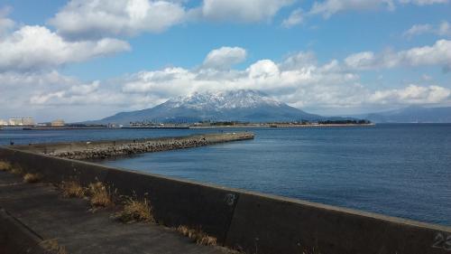 H29・2・11冠雪桜島