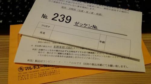 M-1 参加切符