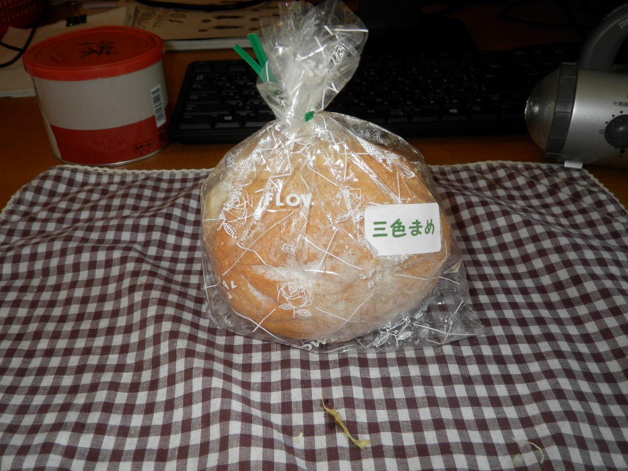 豆パン79