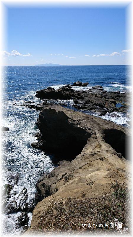 城ヶ島、馬の背洞門⑯