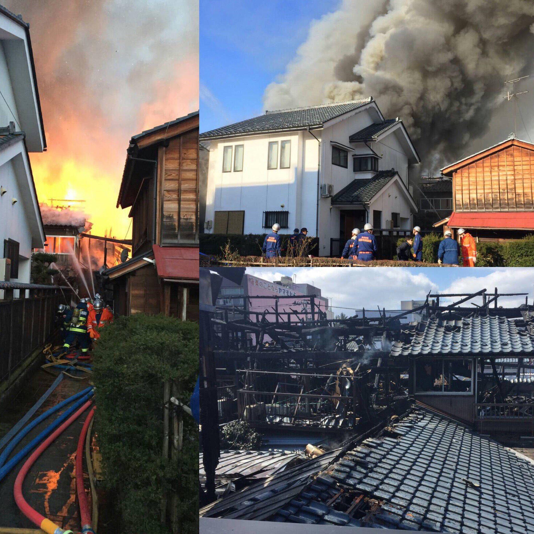 20170228_福井県越前市「蔵の辻」で火災