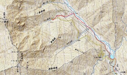 170209 湯檜曽川軌跡