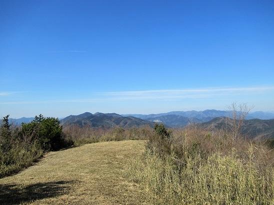 緑山山頂風景