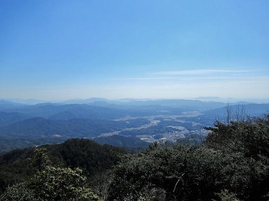 烏帽子岳山頂展望1