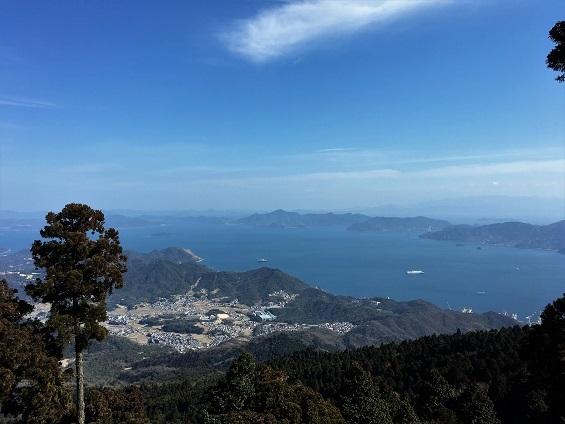 野呂山展望