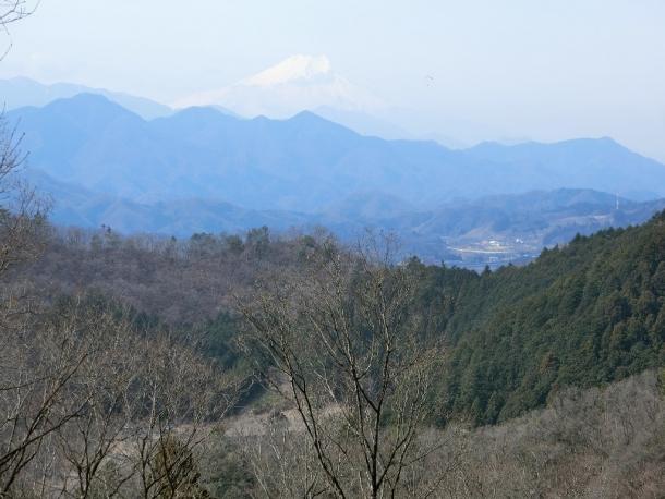 尾続過ぎ富士山