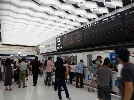 台北2016.7台北・成田空港
