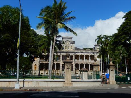 ハワイ2016.10ホノルル・ダウンタウン