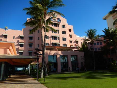 ハワイ2016.10ロイヤルハワイアンホテル
