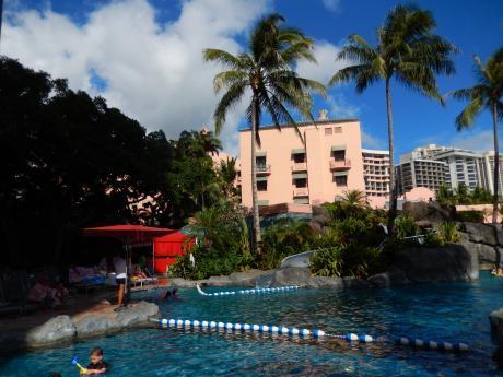 ハワイ2016.10ホテル・プール