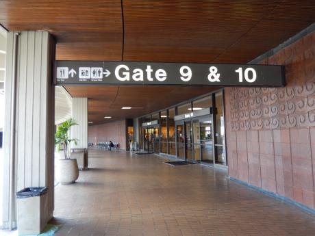 ハワイ2016.10ホノノル空港