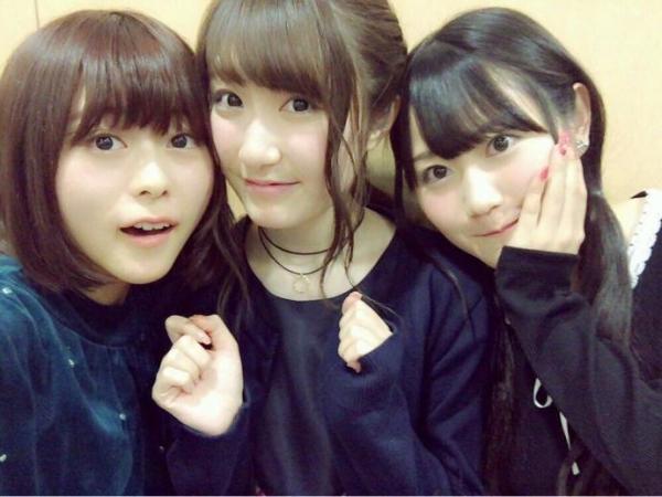 声優・水瀬いのりちゃん、日高里菜ちゃん、小倉唯ちゃん、奇跡の3ショットが可愛すぎると話題