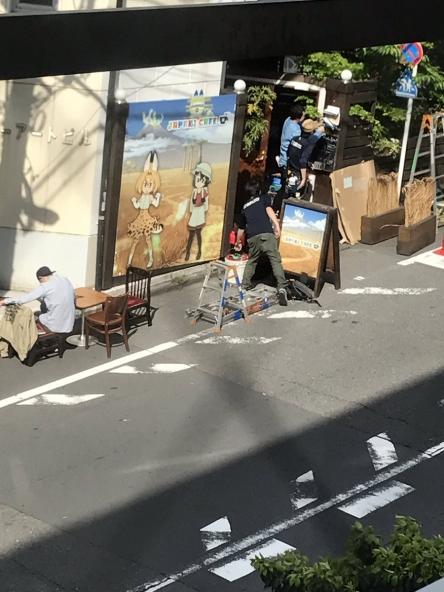 【けものフレンズ】ジャパリカフェが4/29から原宿にオープン、1年間やる模様! 「けもフレみんなのくじ」ロット売り(5万円)も販売終了