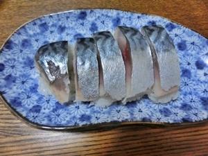 きずしで鯖寿司