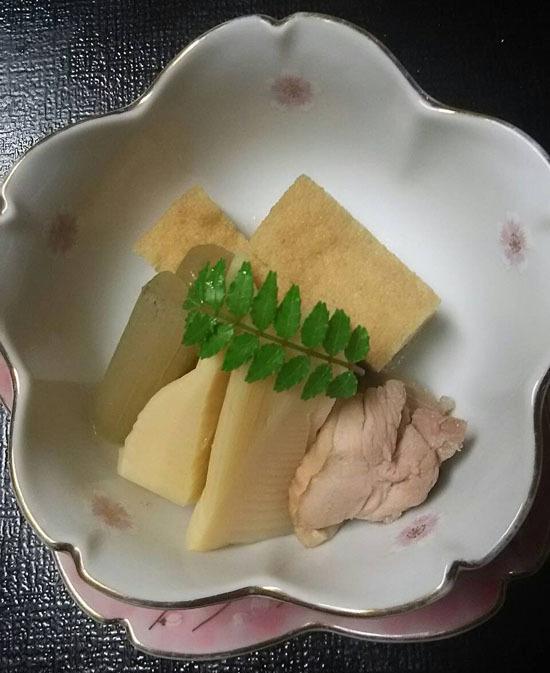 170414新筍の木の芽味噌焼き