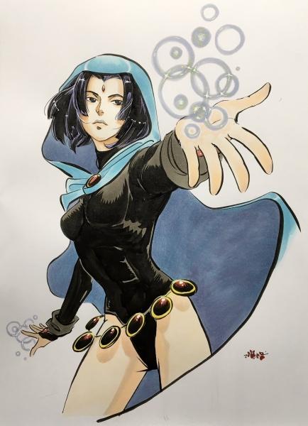 Shiroi Raven