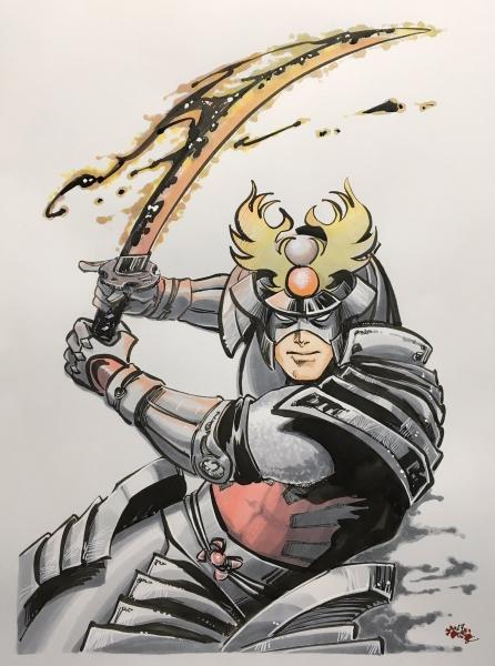 Shiroi Silversamurai