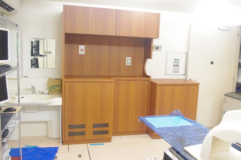 砺波総合病院 医療用収納システム家具