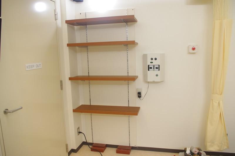 砺波総合病院 可動棚板