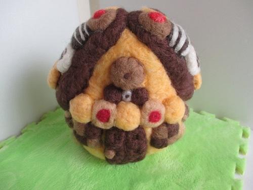 お菓子の家完成4