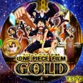 ONE PIECE FILM GOLD dvd