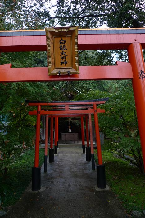 大和の国の神社  龍田神社  11