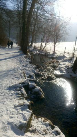 Bad Urach滝凍る5